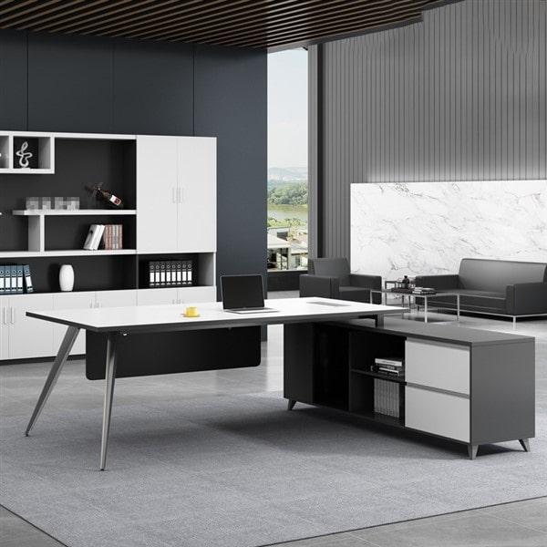 Báo giá thiết kế nội thất phòng làm việc hiện đại - phumyhungleasing.com